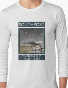Southport - Where The Mud Meets The Sea Long Sleeve T-Shirt