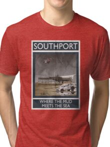 Southport - Where The Mud Meets The Sea Tri-blend T-Shirt
