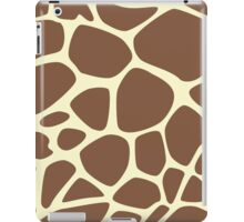 Animal Print (Giraffe Pattern) - Brown Yellow  iPad Case/Skin