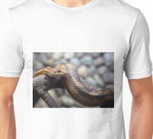 snake on the branch Unisex T-Shirt
