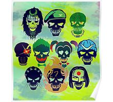 Skulls of The Squad Poster