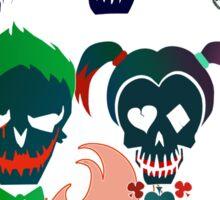 Skulls of The Squad Sticker