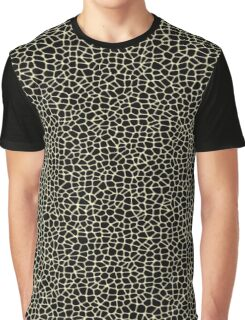 Cell Pattern Black Pillow Graphic T-Shirt