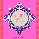 Be happy and smile by Ruby Coupe