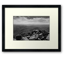 Fury Gorge Framed Print