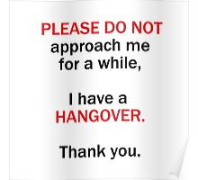 Hungover Poster