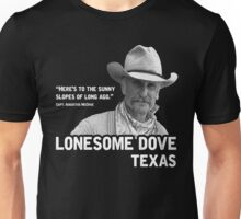 The Sunny Slopes of Long Ago - Lonesome Dove Unisex T-Shirt