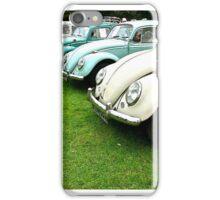 Volkwagen Beetle Line-up iPhone Case/Skin