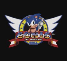 Sonic retro logo One Piece - Long Sleeve