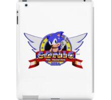 Sonic retro logo iPad Case/Skin