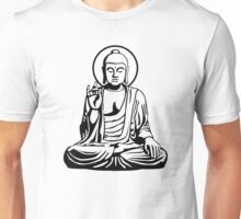 Young Buddha (black) Unisex T-Shirt