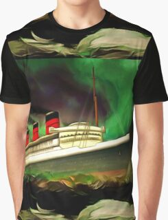 RMS Queen Mary Graphic T-Shirt