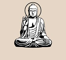 Young Buddha (black white) Unisex T-Shirt
