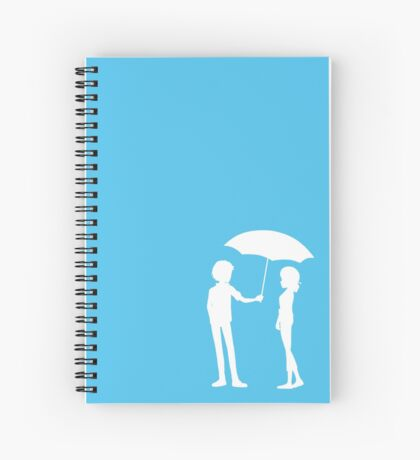 Caught in the Rain Spiral Notebook