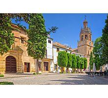 Plaza Duquesa de Parcent - Ronda - Andalucia - Spain Photographic Print