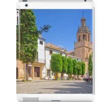 Plaza Duquesa de Parcent - Ronda - Andalucia - Spain iPad Case/Skin