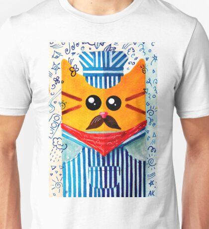 Cat Engine Driver  Unisex T-Shirt