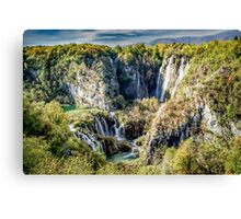 Plitvice National Park, Croatia. Canvas Print