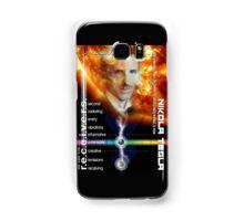 tesla information Samsung Galaxy Case/Skin