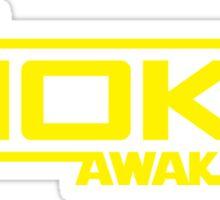 The Moke Awakens Sticker