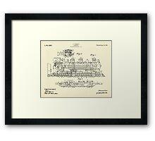 Locomotive-1915 Framed Print
