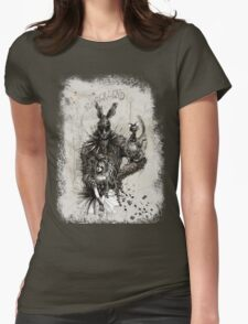 Vunderlend: in the Rabbit Hole Womens Fitted T-Shirt