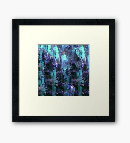 abstract b.16 Framed Print
