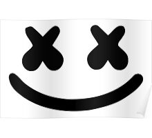 Marshmello Face Poster