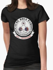 Cacoy Doce Pares Melbourne Womens Fitted T-Shirt