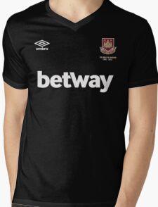 West Ham United F.C. Mens V-Neck T-Shirt