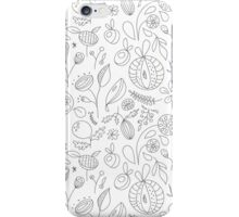 Fantasy garden pattern iPhone Case/Skin