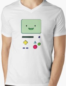 Adventure Time BMO Mens V-Neck T-Shirt