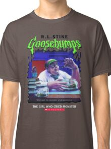 Goosebumps - The Girl Who Cried Monster Classic T-Shirt