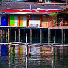 Fisher house reflections by indiafrank