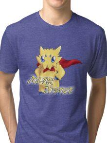 Merch von Joltik Justice Tri-blend T-Shirt