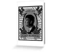 Thomas Shelby Peaky Blinders Greeting Card