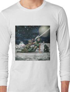 Vintage Sci-Fi Long Sleeve T-Shirt