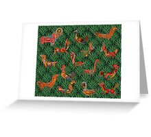 Jungle Thrills Greeting Card
