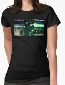 Oberheim Xpander Panels Womens Fitted T-Shirt