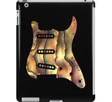 Colorful Guitar Pickguard  iPad Case/Skin