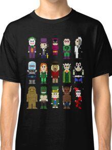 8-Bit Super Heroes: ROGUES! Classic T-Shirt