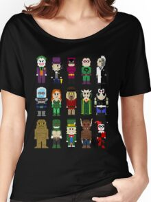 8-Bit Super Heroes: ROGUES! Women's Relaxed Fit T-Shirt