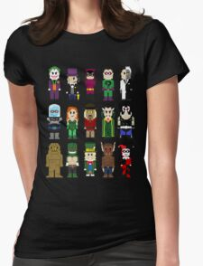 8-Bit Super Heroes: ROGUES! Womens Fitted T-Shirt