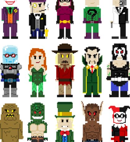 8-Bit Super Heroes: ROGUES! Sticker