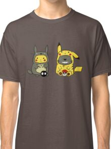 totoro and pikachu Classic T-Shirt