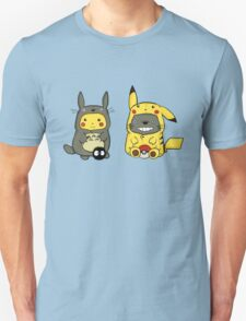 totoro and pikachu Unisex T-Shirt