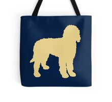 Golden Doodle Silhouette Tote Bag