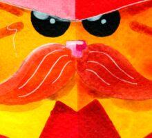 Cat Fireman Sticker