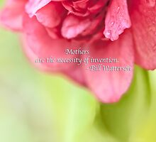 Mothers Day Camellia Quote by Marianne Campolongo