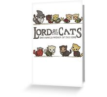 lord of the cat Greeting Card